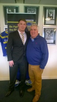Maxileads sponsor Warrington
