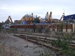 Metal Recycling Scrapyard
