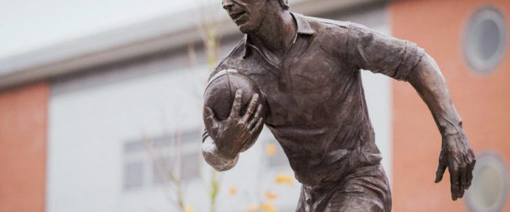 Statue of Rugby League Legend John Woods Unveiled