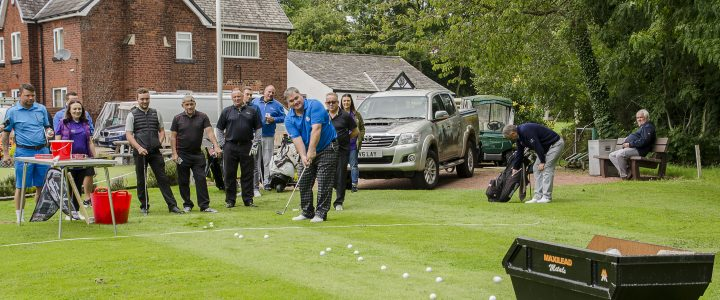 The Maxilead Golf Charity Event – we raised over £8,000!