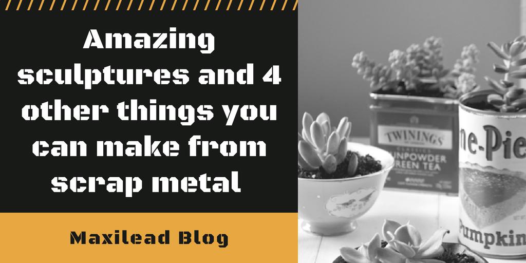 sculptures, scrap metal, scrap metal sculptures