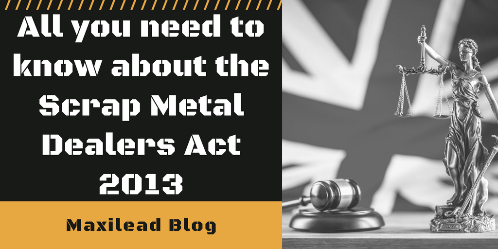 scrap metal dealers act