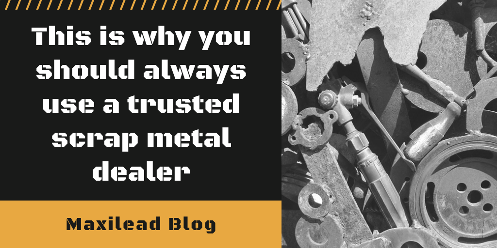 trusted scrap metal dealer