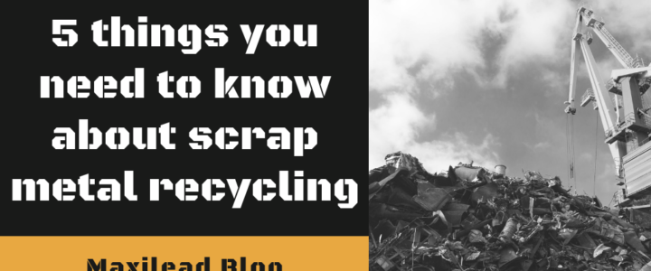 5 things you need to know about scrap metal recycling