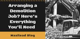 Maxilead Metals.- arranging a demolition